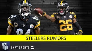 Steelers Rumors: Antonio Brown Trade Latest And Le'veon Bell Transition Tag
