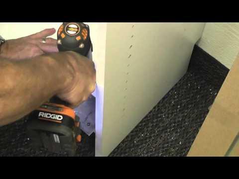 Installing Hamper Doors