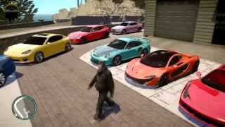 GTA 4 AMAZING RICH HOUSE REAL CARS