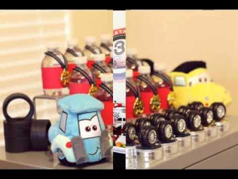 Diy Disney Cars Birthday Party Decorations Youtube