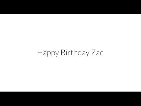 Zac Brown Band - Happy Birthday, Zac! Thumbnail image