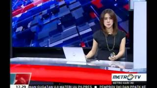 Contoh Video News Anchor