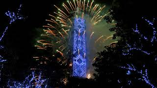 8K 驚人! 這支跨年煙火YOUTUBE 顯示 8K 6K 101煙火+LED動畫超吸睛 炫迎 2018 The 2018 Taipei 101 Fireworks Display