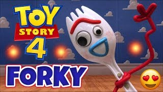 TOY STORY 4 - FORKY JUGUETE que HABLA y CANTA (Junio 2019) Thinkaway Toys Review
