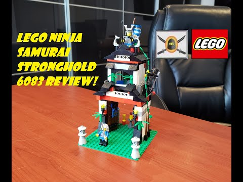 LEGO Ninja Samurai Stronghold 6083 Review! One of the best 20 dollar sets ever...