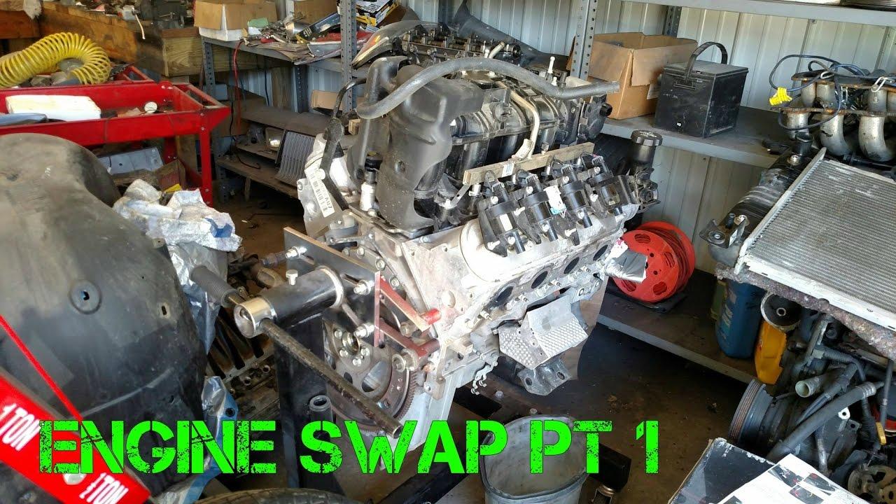 2000 suburban transmission swap