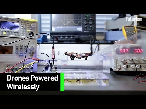 This Drone Can Take Flight Without Any Wires Or Batteries