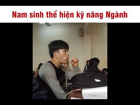 Nam sinh biểu diễn kỹ năng Ngành | Quang Pham