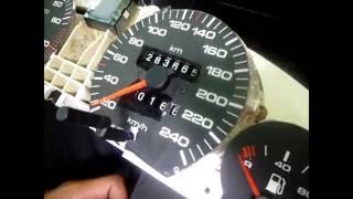 Audi 100 C4 ta'mirlash ko'lamli spidometra