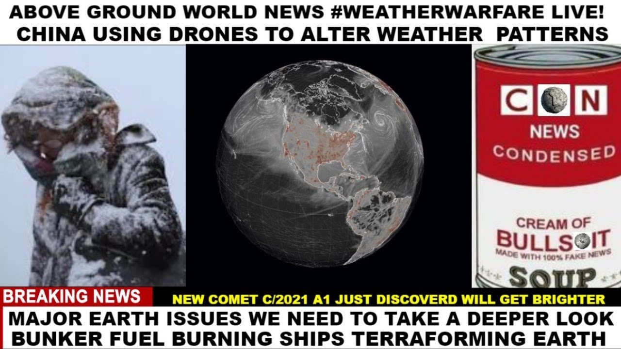 CLIMATECONTROL WEATHERWEAPONS  BUNKER FUEL