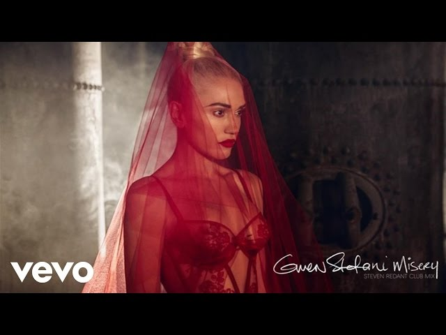 Gwen Stefani - Misery (Audio/Steven Redant Club Mix)