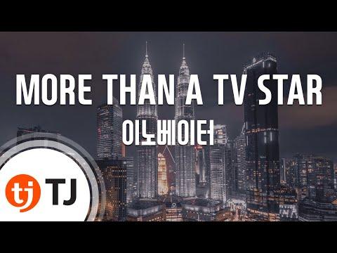 [TJ노래방] MORE THAN A TV STAR - 이노베이터(Feat.이하이) (MORE THAN A TV STAR -  INNOVATOR) / TJ Karaoke