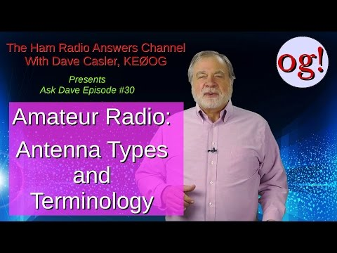 Antenna Types and Terminology: AD#30