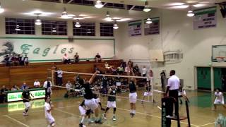 Eagle Rock vs. Santa Barbara Volleyball CIF State Regional Quarter-Finals 2013 Thumbnail