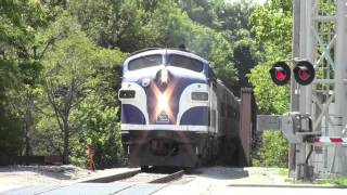 2015 State Indiana Fair Train in Action
