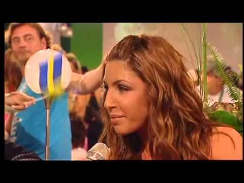 Helena Paparizou  Mini  @ Green Room Eurovision 2005