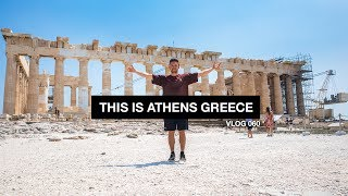 This is Athens Greece - Vlog 60
