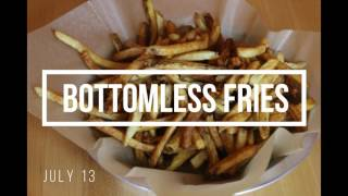 Celebrate National French Fry Day at Meatheads on July 13!