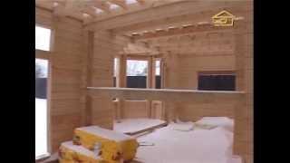 27. Продолжении серии 26 - строительство дома из клееного бруса - Строить не перестроить