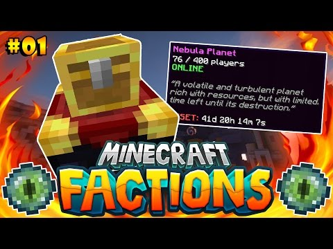 FIRST GOD CHEST OF THE SEASON! | Minecraft: COSMIC FACTIONS VERSUS #1 (Nebula Planet)