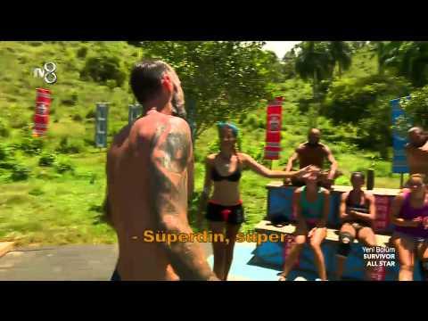 Survivor All Star - Pascal ve Bozok 'un Samimi Pozları (6.Sezon 29.Bölüm)