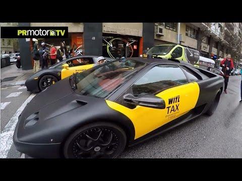 2 Lamborghini TAXIS x Barcelona? Con Josef Ajram & Sebas Romero by PRMotor TV Channel