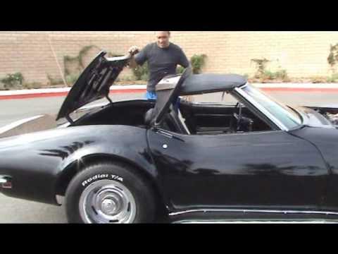 1969 Corvette Convertible Youtube