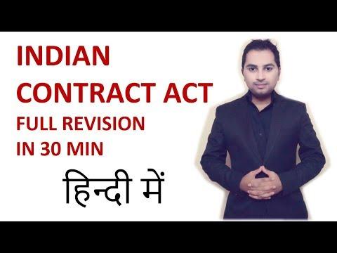 Law - Indian contract act 1872 - LLB   CA   B.com   CS   Mba   Bba   M.com   Class 11 12   ccs