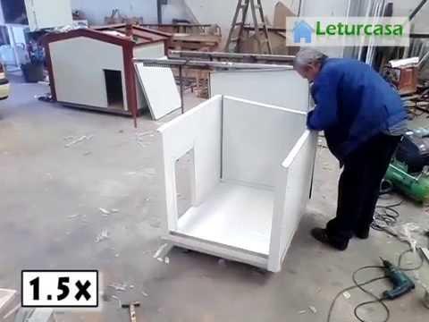 Montaje de una caseta de panel sandwich - Como hacer una caseta de obra ...