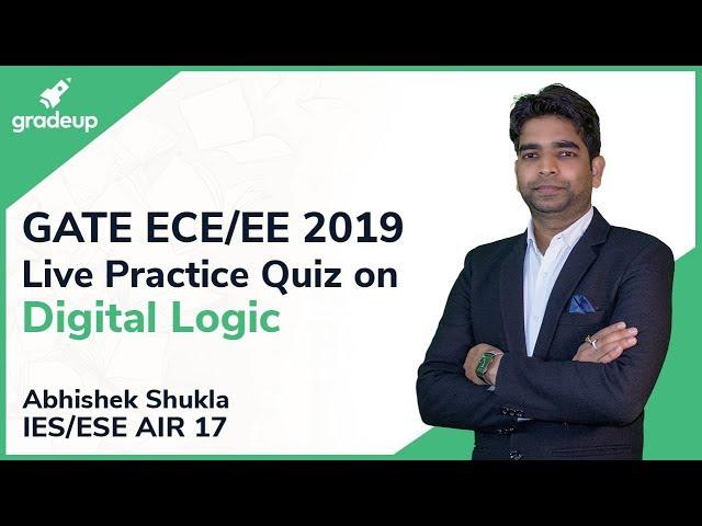 GATE ECE/EE 2019 | Digital Logic | Live Practice Quiz #5