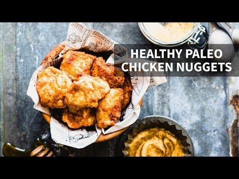 HOMEMADE HEALTHY CHICKEN NUGGETS | Gluten-free + Paleo