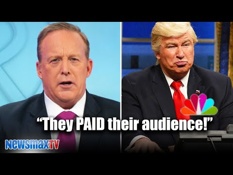 Sean Spicer slams SNL and their double standards