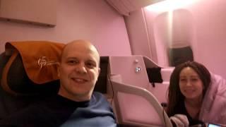 Смотреть видео Перелет Москва Гонконг. Обзор бизнес-класс Boeng 777. Советы путешествующим. онлайн