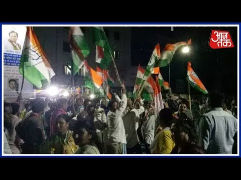 Congress Celebrates As Ahmed Patel Wins Rajya Sabha Seat From Gujarat