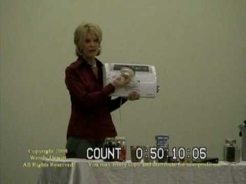 Wendy Dewitt Food Storage Seminar Part 8 Of 9 Saver