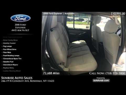 Used 2008 Ford Explorer | Sunrise Auto Sales, Rosedale, NY
