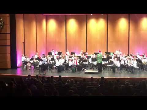 """Baldwin Street Middle School 7th Grade Band - """"All I Want For Christmas Is You"""", 4 of 4"""