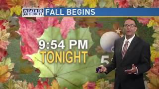 Meteorologist Mike Brookins Saturday AM Forecast 9-22-2018