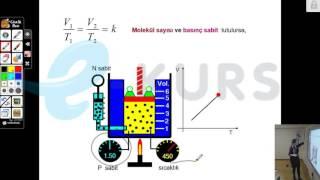 YGS Fizik - Basınç - Açık Hava Basıncı / nettekurs.com Online YGS Kursu - Uzaktan Eğitim Dershanesi