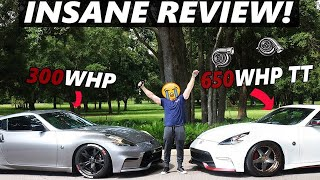 Driving a 2017 650WHP TWIN TURBO NISMO 370z!!! REVIEW!