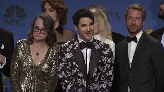 'The Assassination of Gianni Versace' - Golden Globes - Full Backstage Interview