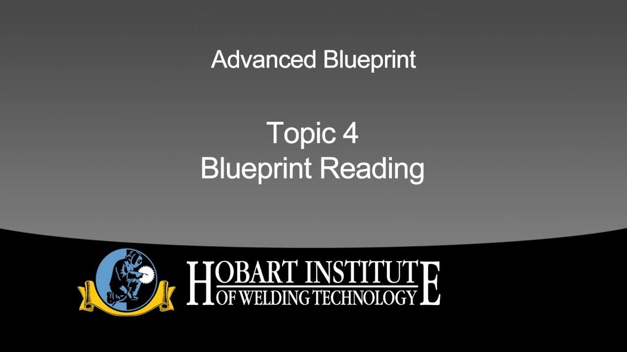 Hobart institute advanced blueprint reading youtube hobart institute advanced blueprint reading malvernweather Choice Image