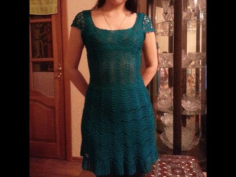 Como tejer un vestido a crochet para mujer