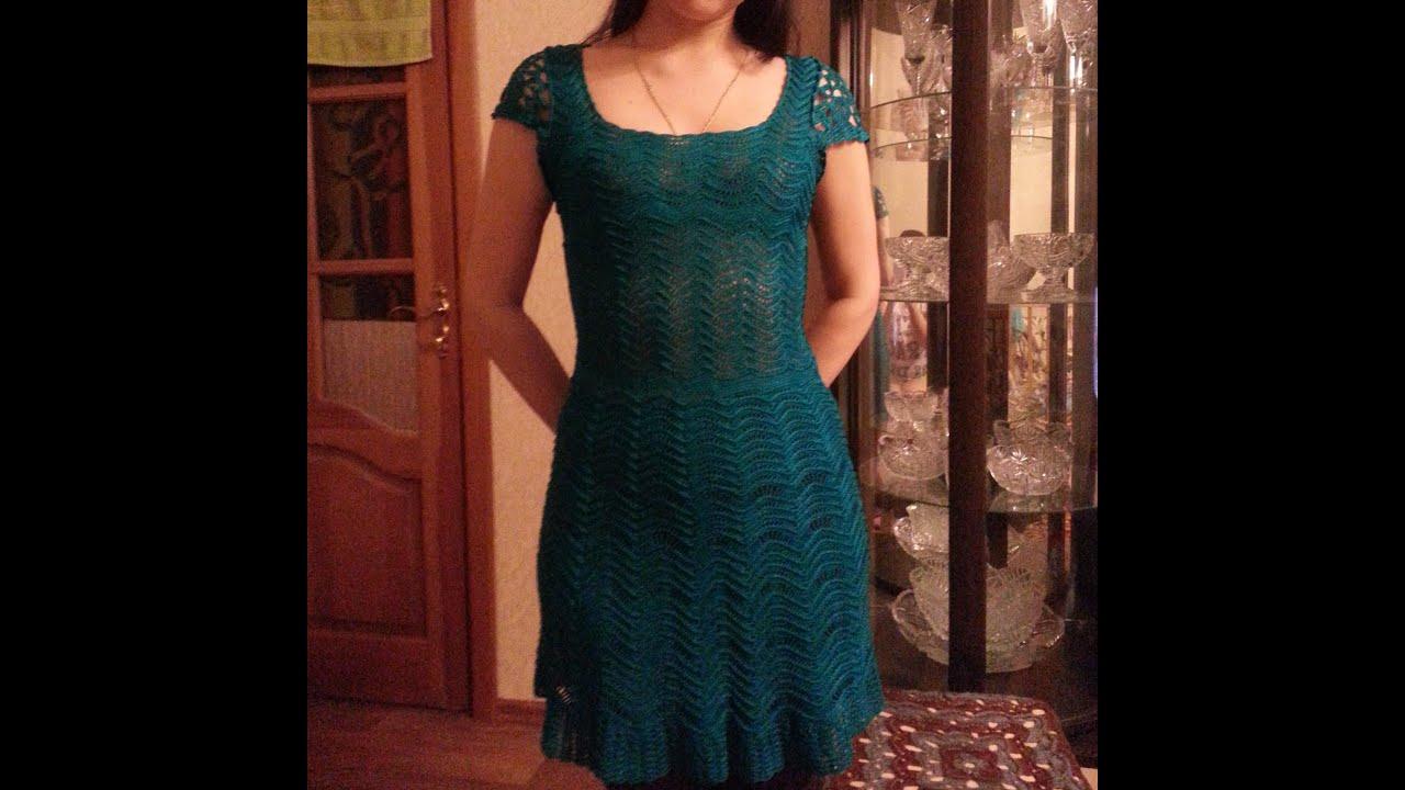Vestidos tejidos en crochet para señora - modelos - YouTube