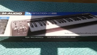M-Audio Keystation 49 MKIII Unboxing