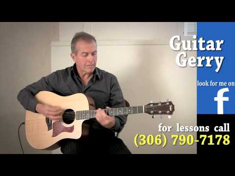 Nitty Gritty Dirt Band - Fishin' in the Dark - Guitar Gerry - Lessons Regina