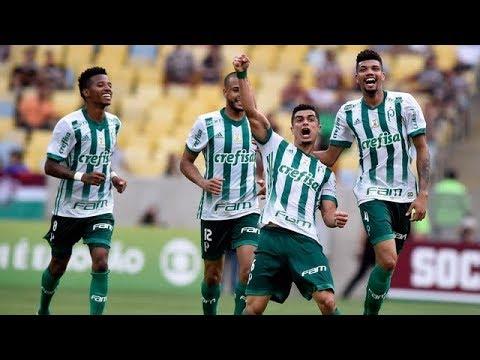 Fluminense 0 x 1 Palmeiras - Melhores Momentos e Gols - COMPLETO Brasileirão 24/09/2017