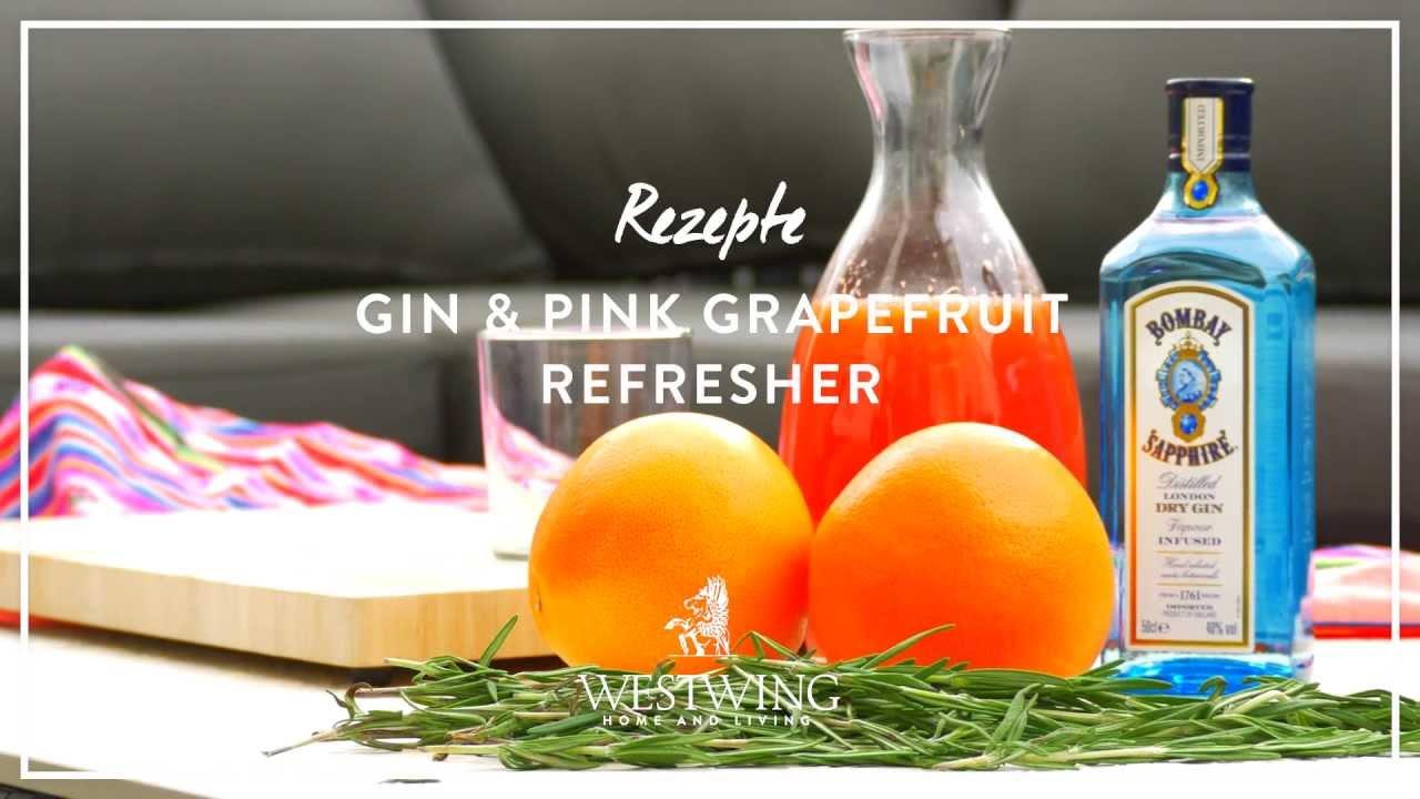 Frisch & Fruchtig: Grapefruit Gin-Cocktail | WESTWING Rezept-Tipps ...