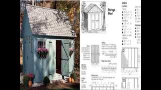 Outdoor Storage Sheds - Shed Plans