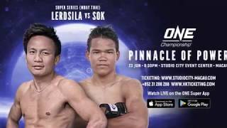 Lerdsila PhuketTopTeam sparring in preparation for ONE FC Muay Thai fight in Macau